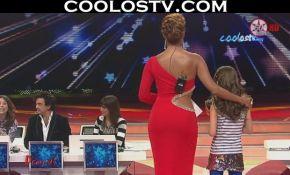 galilea-montijo-culona-vestido-rojo-entallado-hd