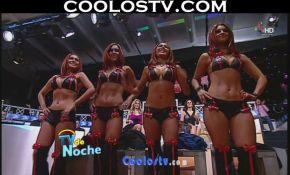 Ballet.TV.de.Noche.Minihorts.Cuero.Negro.Rojo.HD