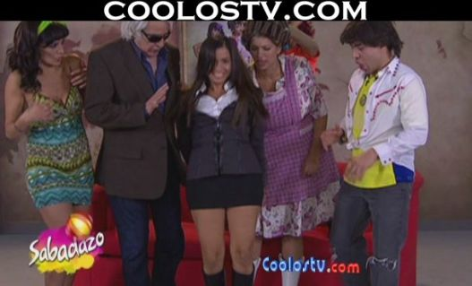 Coolostv Minifalda Gris Calzones Rosas Culo Marcado Marjorie