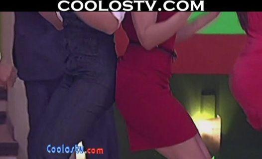 Yuliana.Peniche.Upskirt.Microvestido.Rojo.Culo.Empinado.HD[(001538)