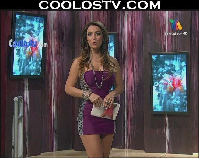 Veronica Pliego Minivestido Morado Atigrado HD
