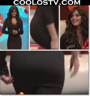 Marisol.Gonzalez.Culote.Minivestido.Negro.Spandex.HD