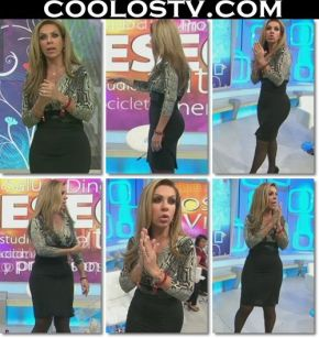Rocio Sanchez Azuara Mega Culo En Falda Negra Ajustada HD