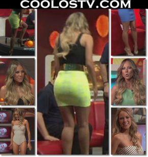 Vanessa.Huppenkothen.Minifalda.Amarilla.HD