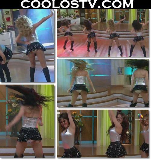 Ballet.VLA.Minifaldas.Negras.Tops.Plata.HD