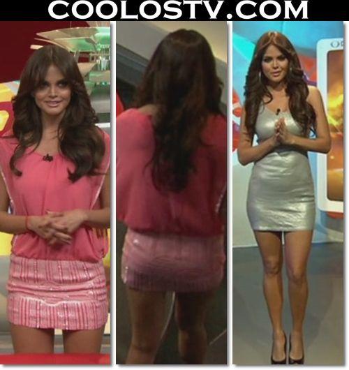 Marisol.Gonzalez.Minifalda.Rosa.Plata.HD