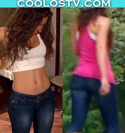 Ariadne Diaz Rebotando Culote en Jeans