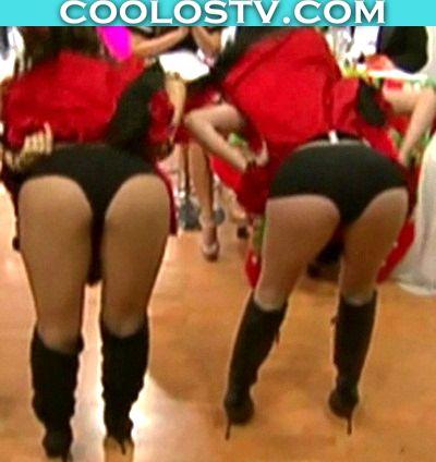 Bailarinas Venga el Domingo Culotes empinadas Erika Canseco