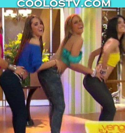 Ballet Venga La Alegria Culitos en Jeans Super Entallados