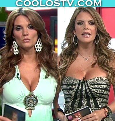Maritere Alessandri y Aline Hernandez Tetonas en Minivestidos