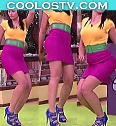 Amanda-Rosa-Upskirt-Culo-Minifalda-Rosa-Bailes