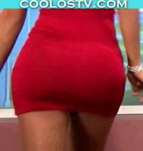 Juliana-Rodrigues-Mega-Culo-Minivestido-Rojo--CoolosVIP