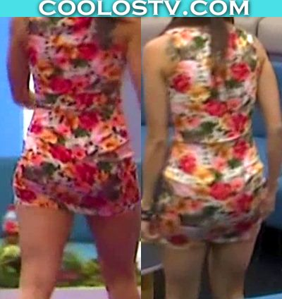 Shira Casar Culo en Minivestido Ajustado Big Brother 2015