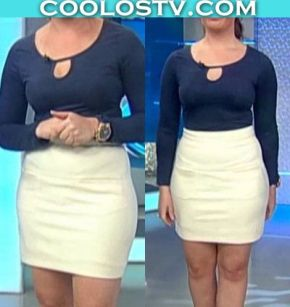 Marina.Ortiz.Minifalda.Blanca.Pezones