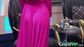 Barbara Islas Culo Vestido Rosa.0008