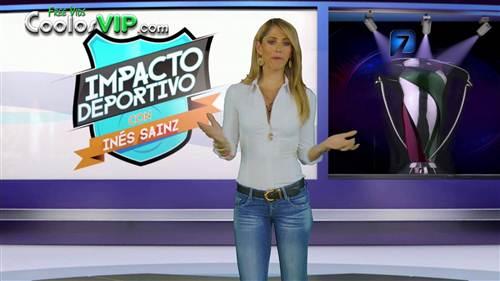 Ines Sainz Jeans Entallados Tetas.0009