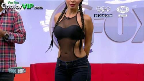 Jimena Sanchez Tetas Transparencia jeans.0000
