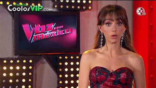 Natalia Tellez Tetas Vestido Rojo.0000