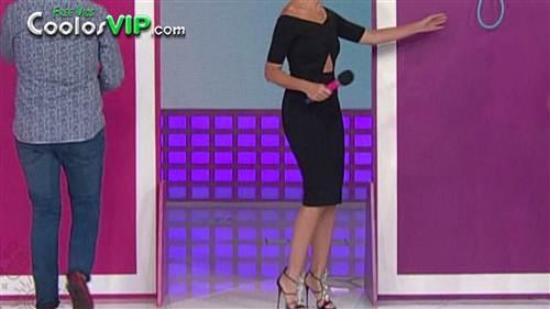 Raquel Bigorra Nalgona Vestido Negro.0003