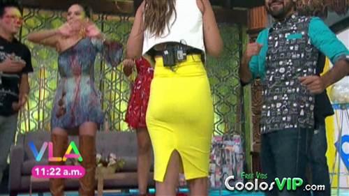 Vanessa Claudio Culote Falda Amarilla Top.0008