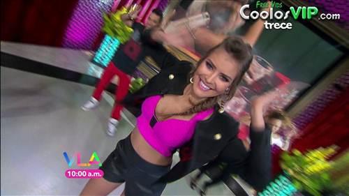 Vanessa Claudio Shorts Cuero Top.0008