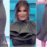 Vanessa Claudio Culote en Vestido de Spandex Este es mi Estilo