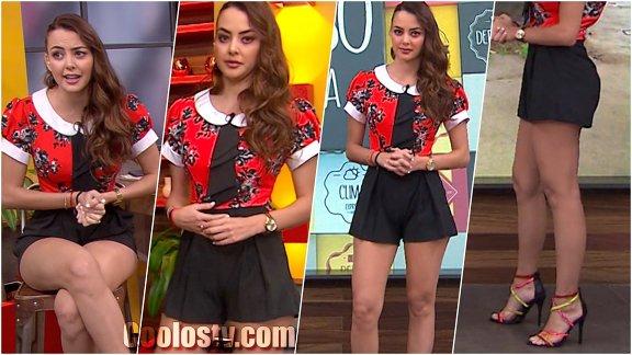 Ana Luisa Ganuza en Short Negro [152]