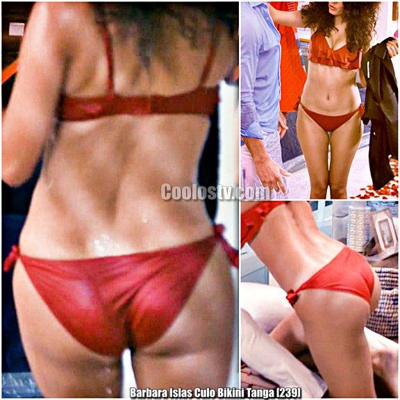Barbara Islas en Tanga Bikini 4k [239]