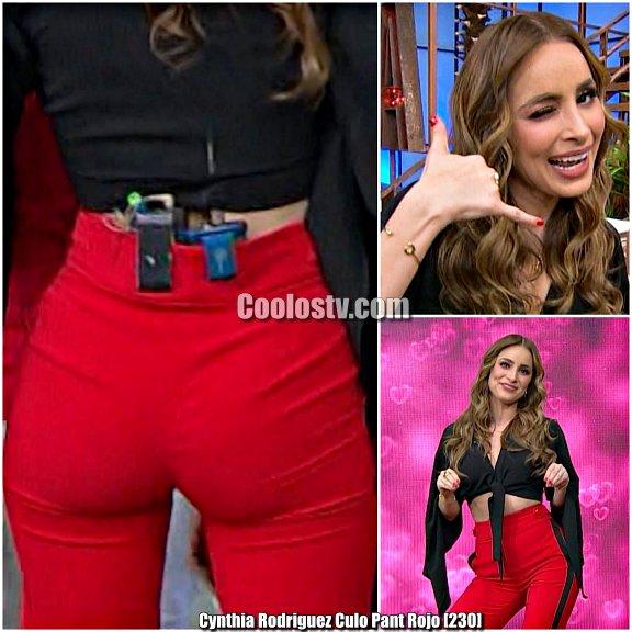 Cynthia Rodriguez Culo en Pantalon Muy Ajustado [230]