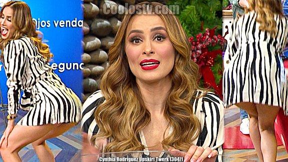 Cynthia Rodriguez Enseña Culo Bailando Twerk Descuido en Venga la Alegria Upskirt [304]1