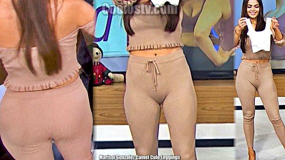 Marisol Gonzalez Cameltoe y Culo en Leggings Hoy [291]