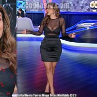 Sofia Rivera Torres Mega Tetas Transparencia y Minifalda [301]