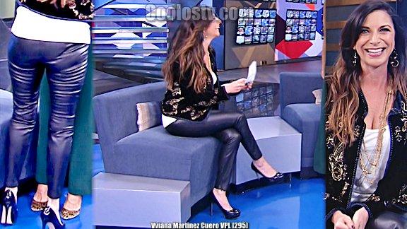 Viviana Martinez Culo en Cuero Calzoncito Marcado VPL [295]