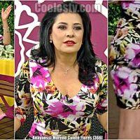 Anayanssi Moreno Rebotando Culote Flores [366]