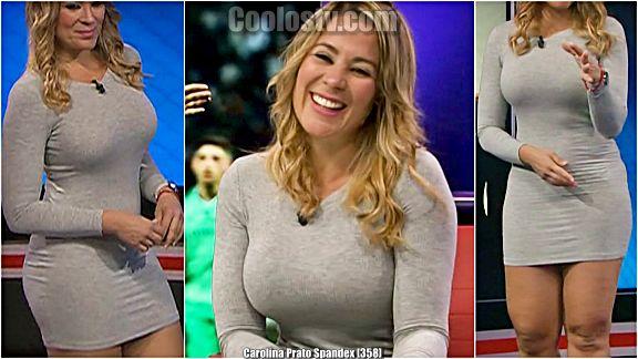 Carolina Prato Tetotas Minivestido Spandex [358]
