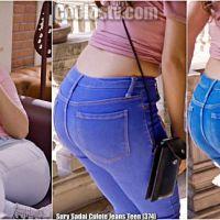 Sury Sadai Culote Jeans Teen [374]