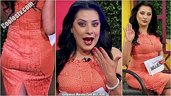 Anayanssi Moreno Moviendo Culo con Panty Marcada MILF VPL [408]