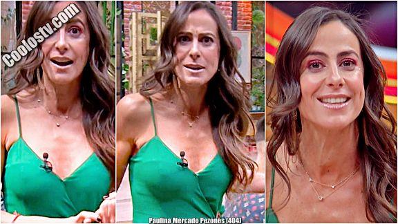Paulina Mercado Pezones en Sale el Sol [404]