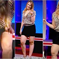 Carolina Prato Upskirt Minifalda [463]