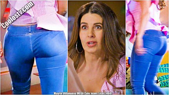 Mayrin Villanueva MEGA Culo Rebotando en Jeans Lisos [464]