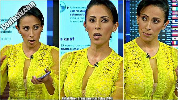 Natali Giron Transparencia Tetas [484]