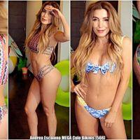 Andrea Escalona MEGA Culo Modela Bikinis [566]