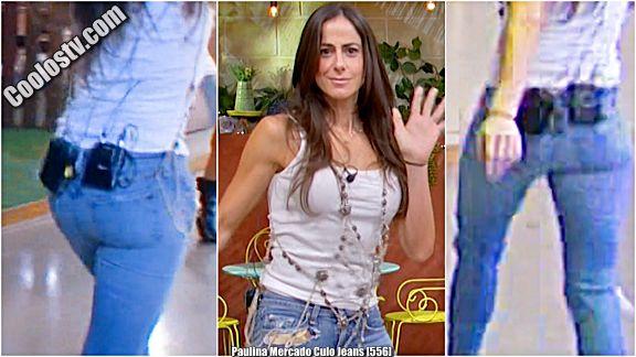 Paulina Mercado Rebotando Culo en Jeans [556]