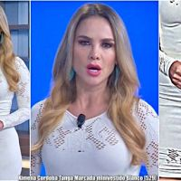 Ximena Cordoba Tanga Marcada Minivestido Blanco [529]