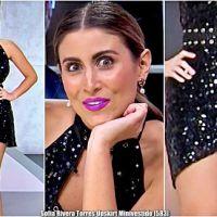 Sofia Rivera Torres Upskirt Minivestido [583]