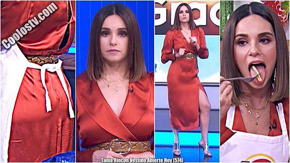 Tania Rincon Culo Marcado en Vestido Abierto en Hoy [574]