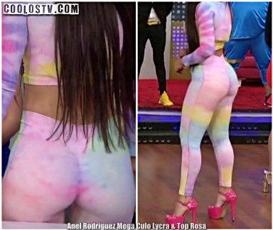 Anel Rodriguez Mega Culo Lycra & Top Rosa