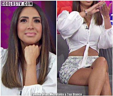 Cynthia Urias Microfalda & Top Blanco