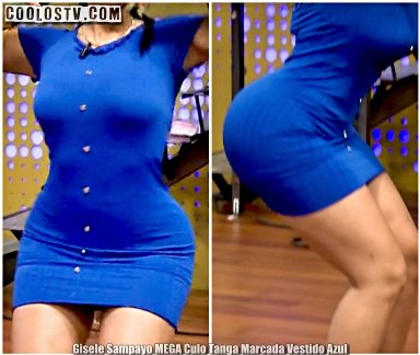 Gisele Sampayo MEGA Culote Tanga Marcada Es Show [Video]